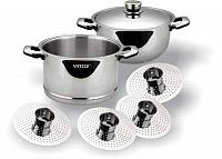 Пароварка, 28 см (Aceline)||Multi Steamer Set, 28 cm (Aceline) VS-1018